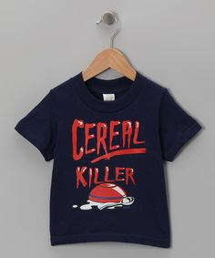 Look at this Blue 'Cereal Killer' Tee - Toddler & Boys on #zulily today!