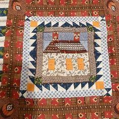 Kate Adams, IGMA fellow - hand pieced quilt