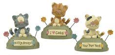 "Set of 3 ""Kitty Krazy"" Cats  $20.97"