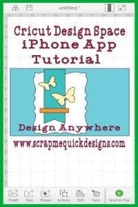 Cricut Design Space iPhone App Tutorial