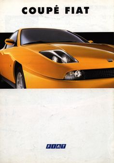 https://flic.kr/p/CN8WYy | Fiat Coupé 1995 car brochure by worldtravellib World Travel library