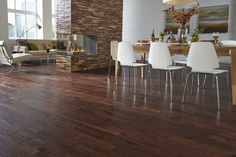"Josh Altman says, ""While hardwood never 'goes out of style', new homes are featuring aesthetic changes to flooring such as wider planks..."" 