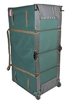 TreeKeeper TK-10773 Greenskeeper 10′-15′ Extra Large Christmas Tree Storage Bag with Wheels