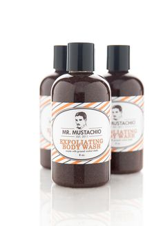 Exfoliating+Body+Wash++Mr.+Mustachio++100+by+FormularyFiftyFive,+$18.00