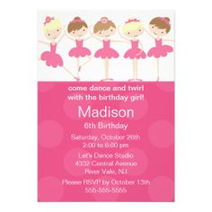 >>>best recommended          Ballerina Dance Birthday Invitation           Ballerina Dance Birthday Invitation In our offer link above you will seeHow to          Ballerina Dance Birthday Invitation lowest price Fast Shipping and save your money Now!!...Cleck Hot Deals >>> http://www.zazzle.com/ballerina_dance_birthday_invitation-161511894934793283?rf=238627982471231924&zbar=1&tc=terrest