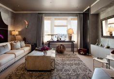 moderner wohnzimmer anstrich modernes wohnzimmer graue wandpaneele taupe creme moderner wohnzimmer anstrich - Taupe Wohnzimmer