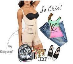 Fajas colombianas reductoras Cute Fashion, Chic, Polyvore, Image, Shabby Chic, Elegant