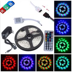Led Light Strips Walmart Casung 6 X Rgb Automotive Led Decor Strip Light Motorcycle