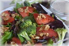 kierunek zdrowie: Orzechowo-brokułowa sałatka z tahini