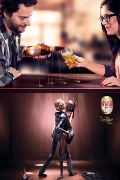 Puppets . devassa beer — RAFAEL GONZAGA