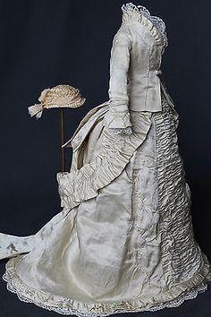 "Antique Dress for French Fashion Doll 14 16 "" | eBay"