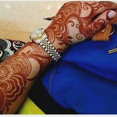 ✨Pinterest: Kubra Yousuf✨ Wedding Henna Designs, Full Mehndi Designs, Arabic Henna Designs, Mehndi Designs For Girls, Beautiful Henna Designs, Dulhan Mehndi Designs, Mehendi, Rose Henna, Mehndi Desighn