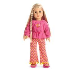 Julie's Zigzag Pajamas | julieworld | American Girl