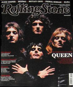 That's right, Rolling Stone. Act like you were Queen fans all along when we both know very well you didn't even put Freddie on the cover when he freakin' DIED. Vipers . . .