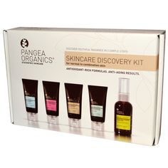 Pangea Organics #skincare discovery #kit