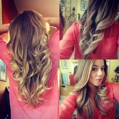 Love, maybe I'll do this with my hair!