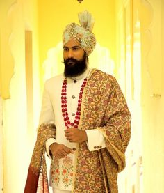 At we draw our inspiration from the immaculate details sewn into traditional Indian clothing and the countless hours spent… Indian Wedding Suits Men, Indian Wedding Poses, Wedding Dress Men, Indian Man, Sherwani, Turban, Indian Outfits, Men's Clothing, Mens Suits