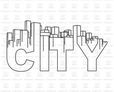 Royalty Free Vector image of City Skyline icon #183181 includes graphic collections of town, city and Icons and Emblems. You can download this image clipart in EPS and JPG format. #rfclipart.com #vectorart #vectorclipart #vectorstock #graphicdesign #diseñográfico #graphisme #grafikdesign #графическийдизайн