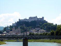 Salzburg-Festung-Dom-Salzach Salzburg, Park, Dom, New York Skyline, Travel, Europe, City, Vacation, Nice Asses