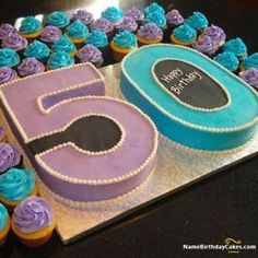 34 Unique 50th Birthday Cake Ideas With Images 49th