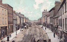 Main Street, Longford, Ireland 1907...for my Fitzpatrick Family