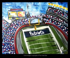 Gillette Stadium - where our favorite football team - The Patriots - play!