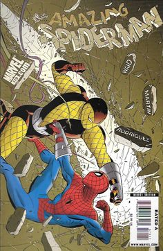 """""""Unscheduled Stop, Part 2"""" """"Shocker and Awe"""" _Written By Mark Waid , Art And Cover Marcos Martin _ With Spidey trapped underground, the Web-Head learns more about the surprising new cast-member who pr"""