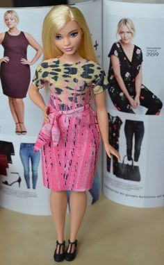 Curvy Barbies are so adorable...