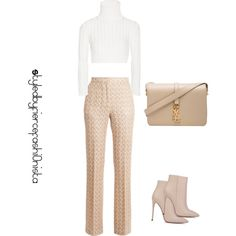Work mode by fiercefashi0nista on Polyvore featuring polyvore, fashion, style, Calvin Klein Collection, Missoni, Akira Black Label and Yves Saint Laurent
