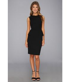 Elie Tahari Judy Seasonless Suiting Dress Black - Zappos.com Free Shipping BOTH Ways