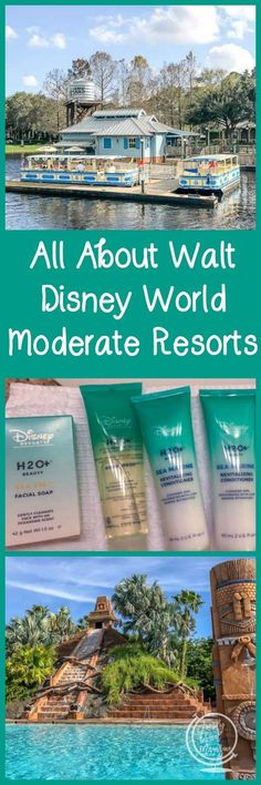 All about Disney Moderate Resorts, including the amenities and transportation they offer. #ad #disney #familytravel