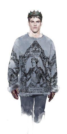 Hans-Dolce-and-Gabbana-Fall-2014-Menswear-5