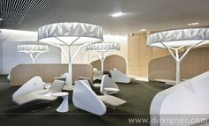 Brandimage designed the new business lounge Air France at Paris Charles-de-Gaulle airport.