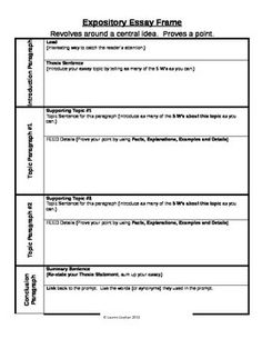 Expository Essay Rubric  Rubrics Students And Expository Writing
