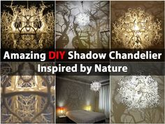 Imagine lying in bed, looking up at the ceiling and feeling as if you are outside. That is exactly what you can do with this amazing DIY chandelier that makes it look as if there are trees surrounding you while you sleep. You could buy a chandelier like this, but it would set you back more than...