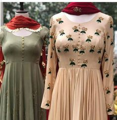 Inspired by Indian culture and its colour. A perfect of Indian embroidery meeting modern needs. Can be customised as per choice DM for order Indianwear Anarkali Dress, Pakistani Dresses, Indian Dresses, Indian Outfits, Lehenga, Indian Anarkali, Anarkali Suits, Kurta Designs, Blouse Designs