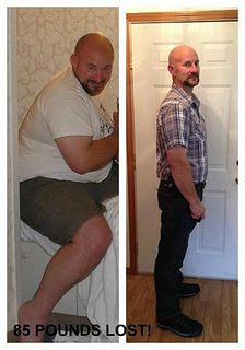 45 lbs on his own 40 with tsfl by Health Coach Peg, via Flickr