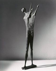 Marcello Mascherini, Orpheus, 1953; bronze, 57 1/2 in. x 19 3/4 in. x 14 1/2 in. (146.05 cm x 50.17 cm x 36.83 cm); Collection SFMOMA, Anonymous gift; © Marcello Mascherini Source:  San Francisco Museum of Modern Art