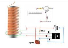 simple solid state tesla coil also called slayer exciter circuit rh pinterest com tesla coil circuit diagram Original Tesla Coil
