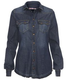 Fornarina Jeans Blouse #fashion #fall #engelhorn #trends