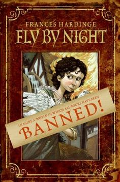 Great book about a world where books are banned!  Fun for all ages!