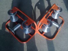 Aluminum Triple Corner Cable Roller From www.duct-rod.com