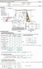 Www Excelcalcs Com Aci 318 08 Design Of Retaining Wall With Counterfort Retaining Wall Retaining Wall Design Wall
