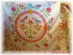 Linen and Raspberry