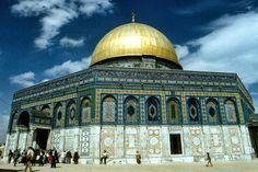 Golden Mosque, Jerusalem, Israel. | Most Beautiful Pages