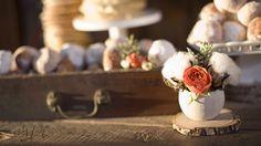 rustic bridal brunch