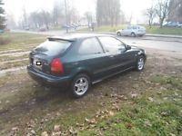 Gumtree: Sprzedam Honde Civic 1,4, 90 km z 1997 roku. samochód zadbany bardzo ładnie się prezentuje. W aucie zostało 4 miesiące temu wymieniony rozrząd, regeneracja przekładni kierowniczej, chłodnica klimatyz