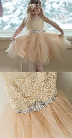 Prom Dresses Beautiful, Illusion Lace Top Tulle Flower Girl Dresses, Popular Little Girl Dresses with rhinestone Belt, Looking for the perfect prom dress to shine on your big night? Prom Dresses 2020 collection offers a variety of stunning, stylish ball. Cheap Flower Girl Dresses, Tulle Flower Girl, Tulle Flowers, Little Girl Dresses, Flower Girls, Sequin Prom Dresses, Pretty Prom Dresses, Long Prom Gowns, Bridesmaid Dresses