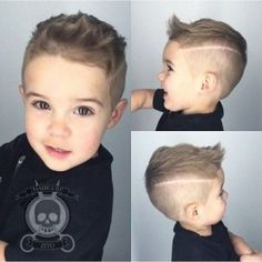 Cute and Modern Toddler Boy Haircuts - Kids Hairstyles - - Baby Yeyyy! Boy Haircuts Short, Little Boy Hairstyles, Toddler Boy Haircuts, Haircut Short, Hairstyles Haircuts, Trendy Hairstyles, Haircuts For Boys, Haircut Styles, Baby Haircut