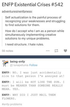 Haha, but what if I'm the kind of ENFP who would much rather just keep smiling and being kind to my enemies as a slap to their faces instead of ACTUALLY slapping them. Enfp And Infj, Enfj, Enfp Personality, Myers Briggs Personality Types, 16 Personalities Enfp, Enneagram Types, Myer Briggs, Psychology, Headspace